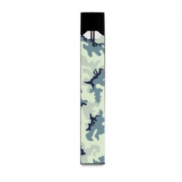 White Camouflage Juul Wrap