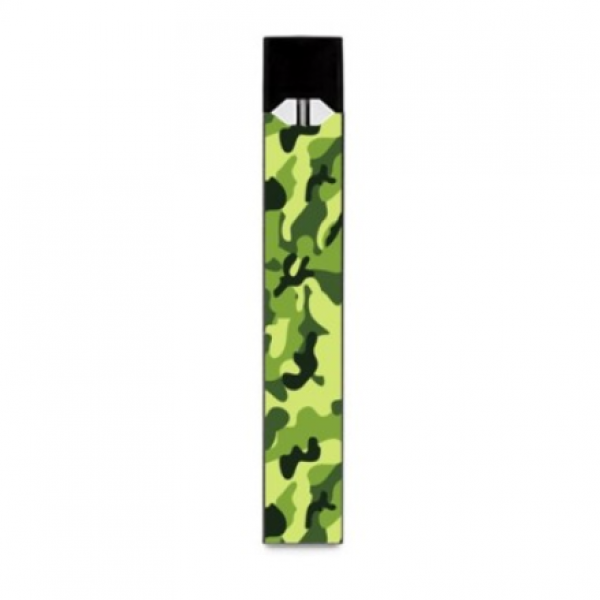 Green Camouflage Juul Wrap